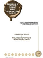 US - Advanced Patents and Patent Process Volume I (Text)
